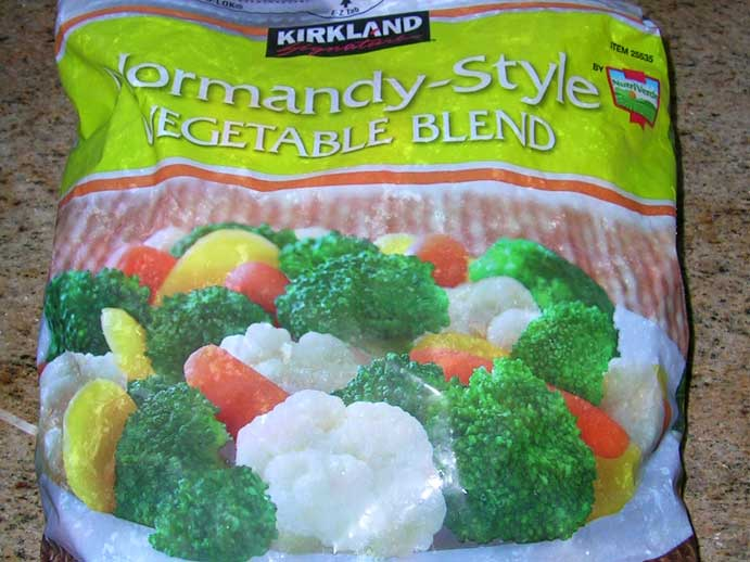 Costco Frozen Vegetables
