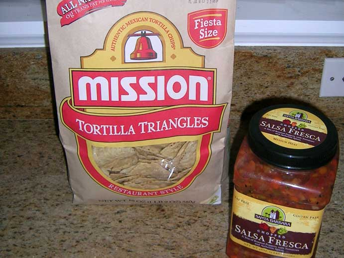 Mission Tortilla Chips and Salsa