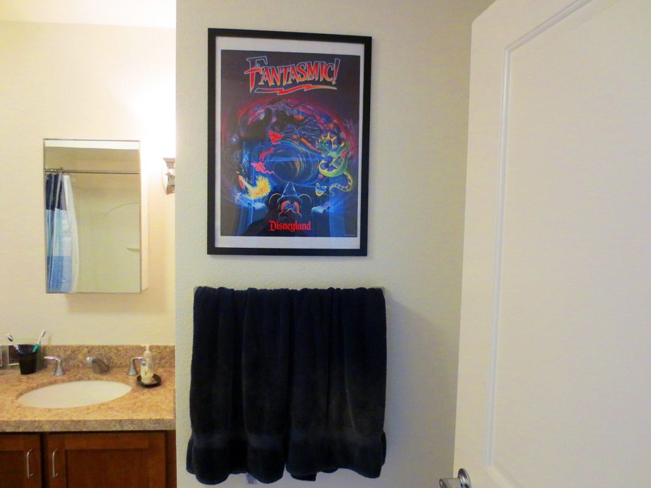 Disneyland Fantasmic Attraction Poster
