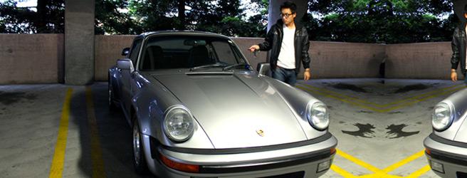 Porsche 911 Carrera GT Silver