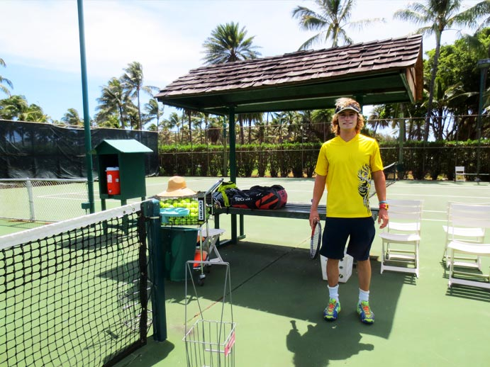 Turtle Bay Resort Tennis Court Pro Tennis Instructor