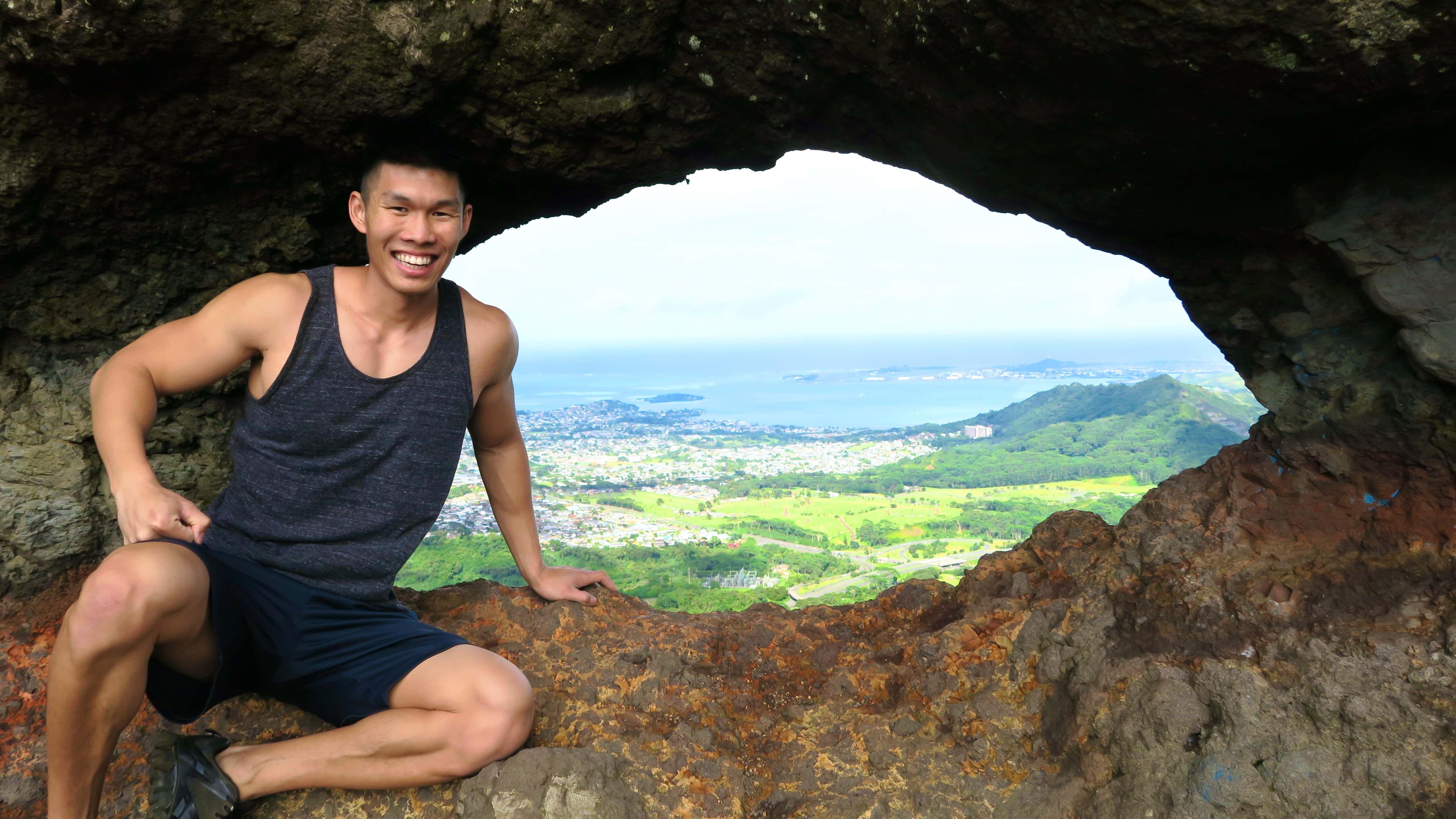 Secret Cliff Hike in Hawaii Pali Puka