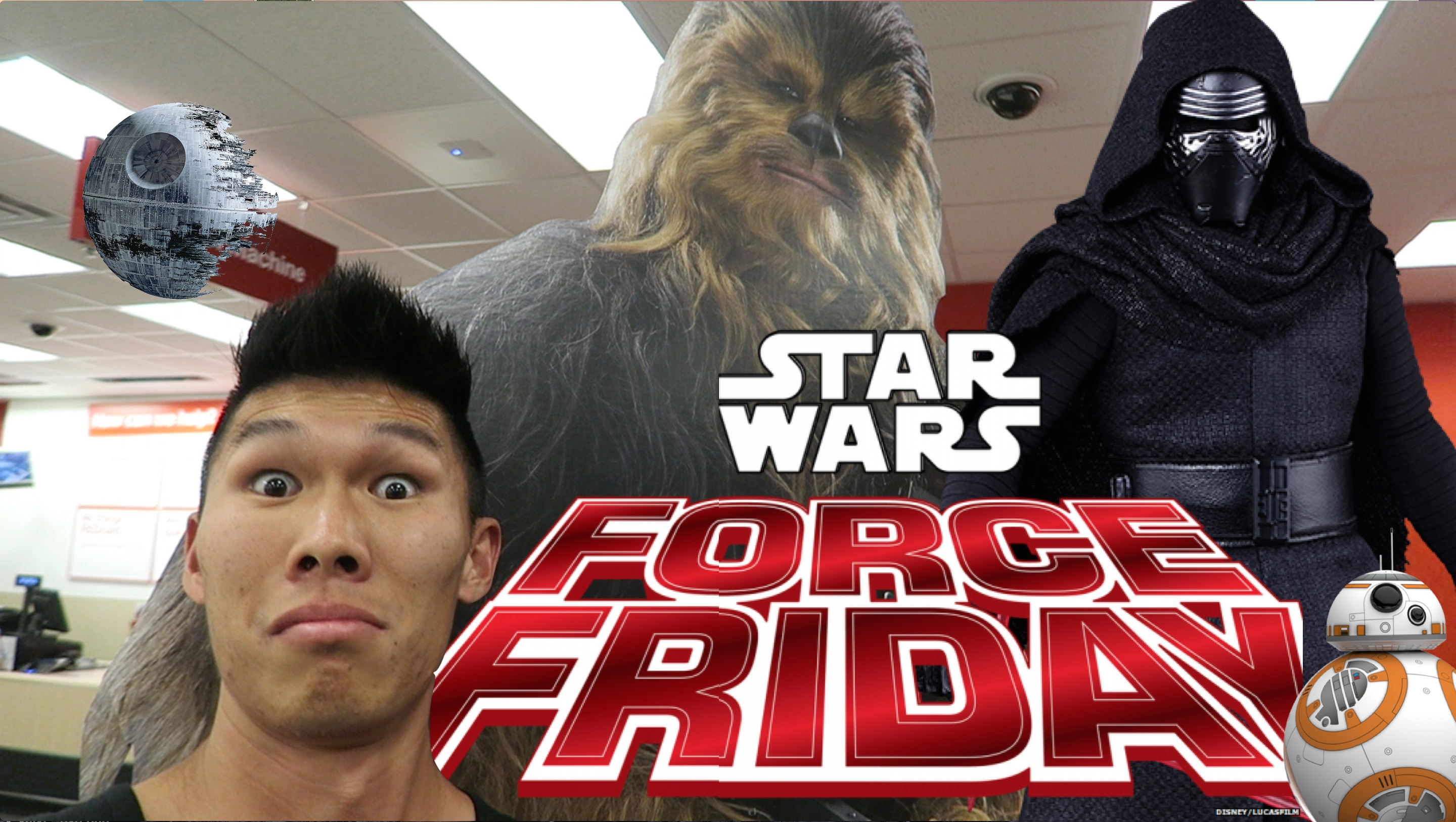 HUNTING BB-8 TOY @ STAR WARS FORCE FRIDAY