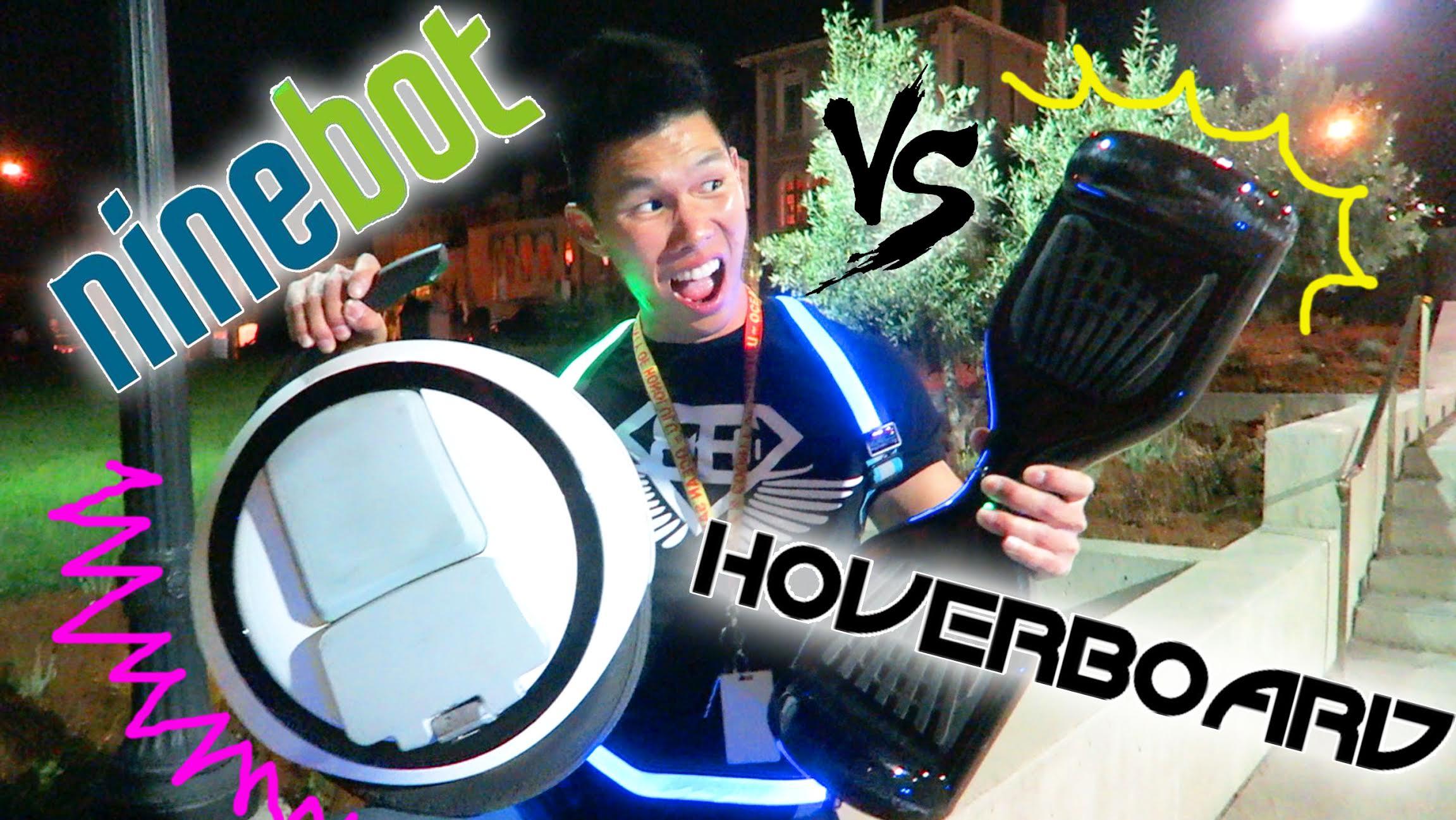 Hoverboard Vs Ninebot