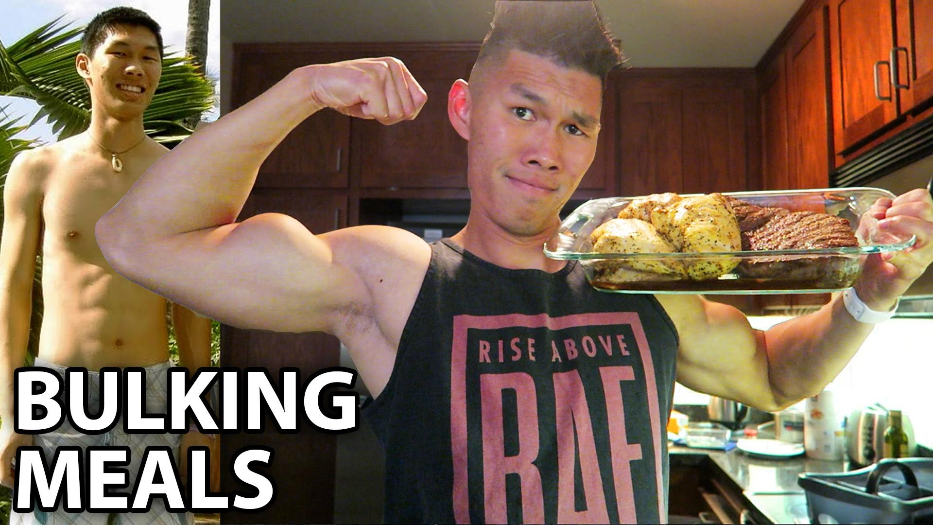 MY BULKING DIET MEALS TO GAIN MUSCLE - Life After College: Ep. 446