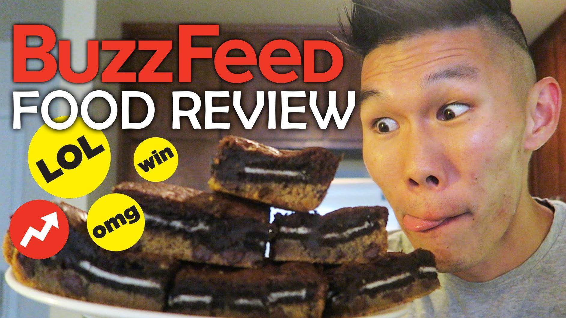 BUZZFEED FALL FOOD RECIPE TASTE TEST