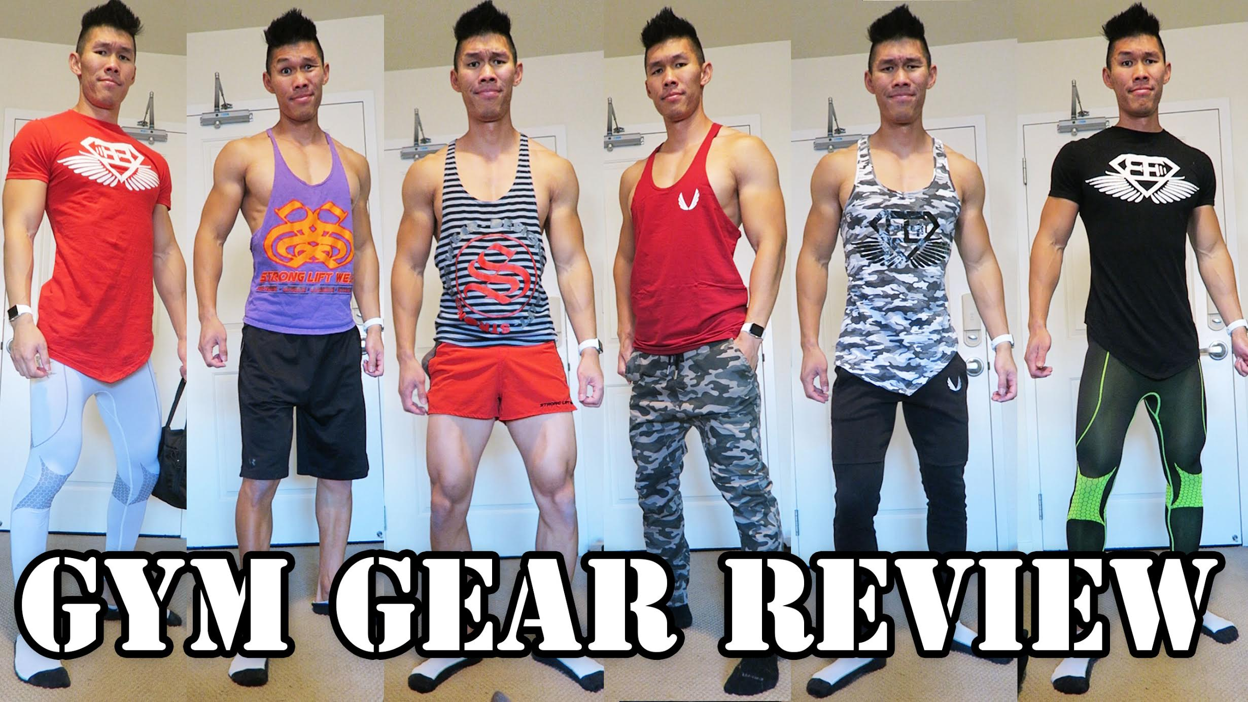 BEST GYM CLOTHES CLOSET TOUR & REVIEW | COLLECTION