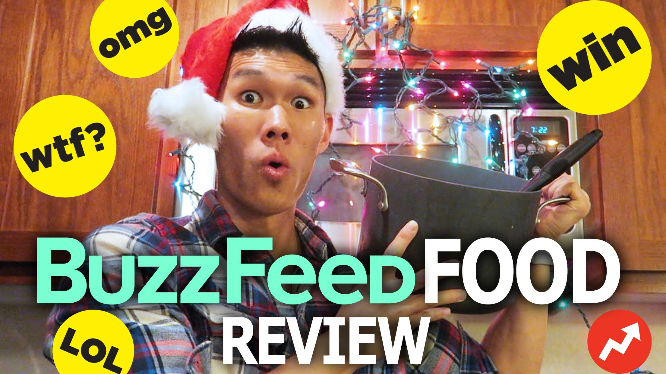 TASTE TESTING BUZZFEED FOOD CHRISTMAS RECIPES