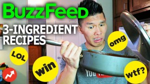 BUZZFEED 3-INGREDIENT FOOD RECIPES TESTED