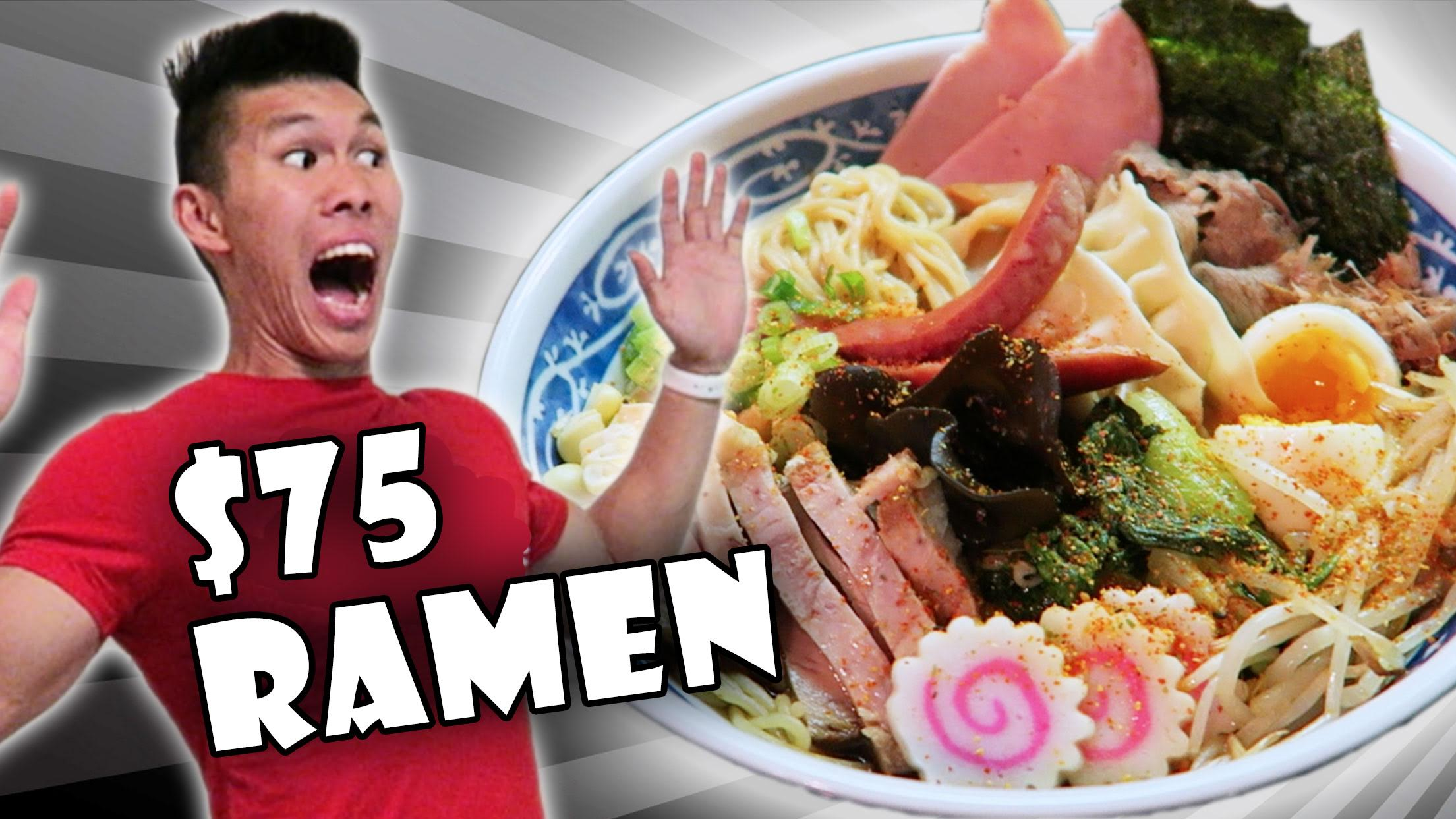 THE ULTIMATE RAMEN RECIPE | 17 Ingredients!