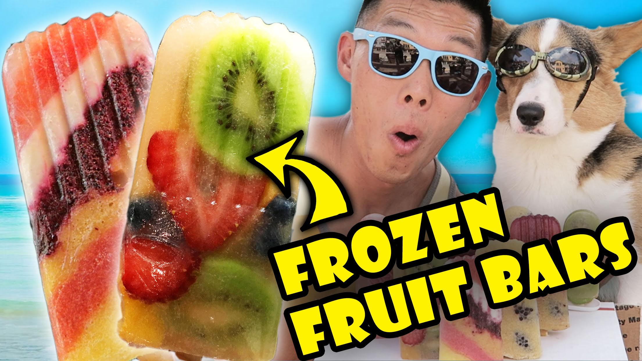 SUMMER FROZEN FRUIT BAR DIY
