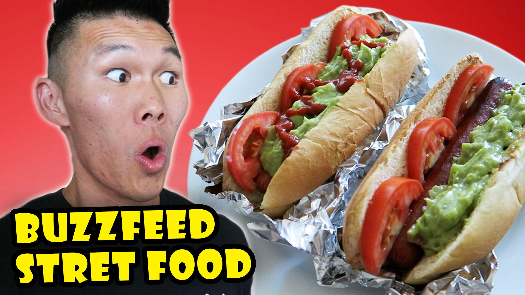 BUZZFEED TASTY STREET FOOD Style RECIPES Tested