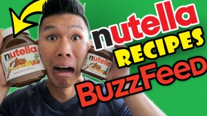 BUZZFEED FOOD NUTELLA Recipes Taste Test
