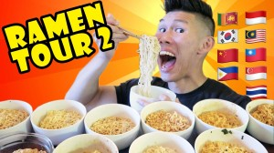 COMPARING INSTANT RAMEN Around The WORLD Part 2