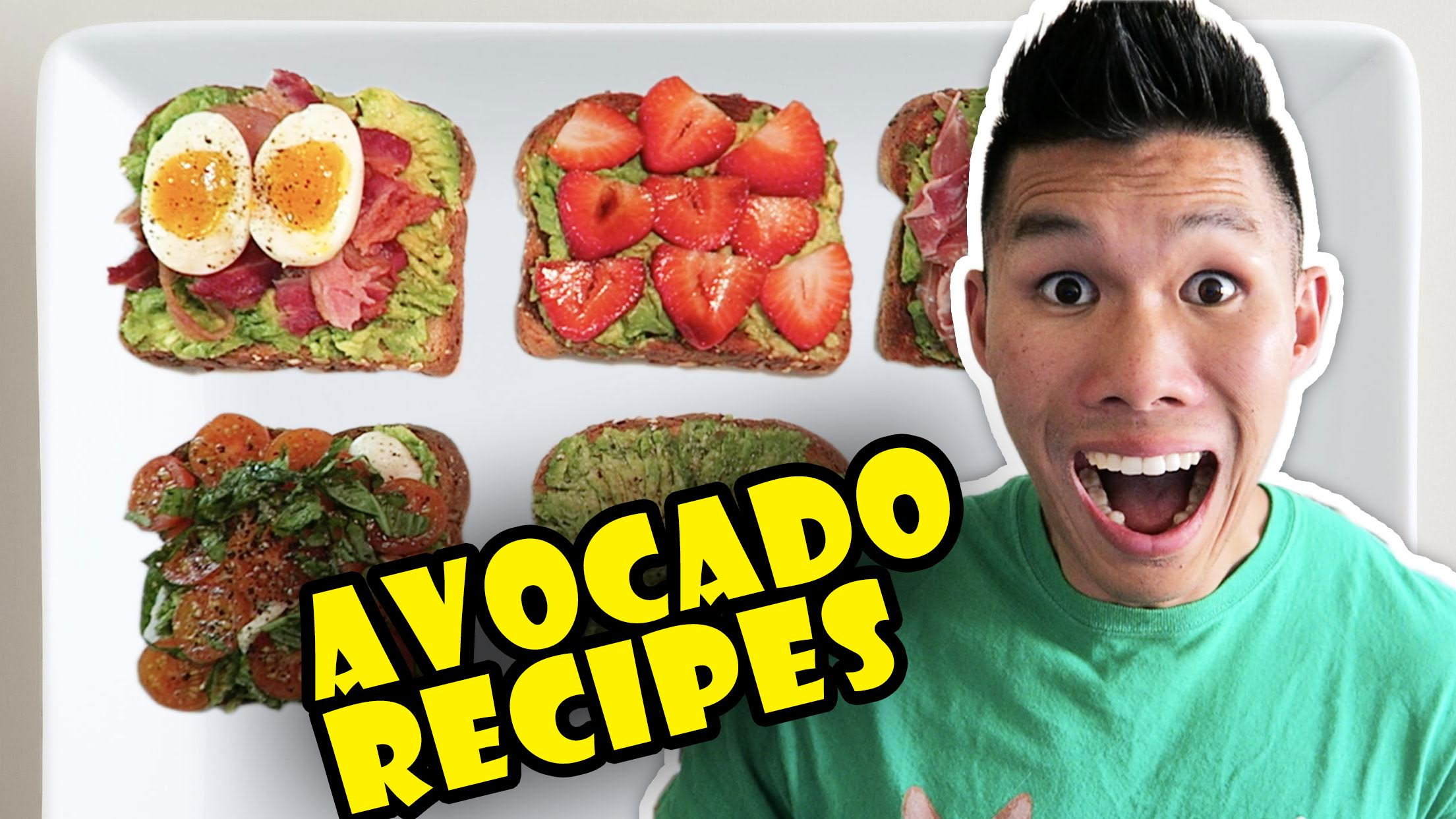 BUZZFEED FOOD'S AVOCADO RECIPES Taste Tested