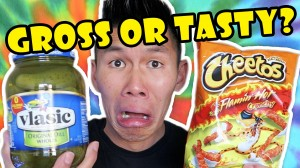 WEIRD FOOD COMBINATIONS || Gross or Tasty?