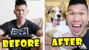 COMPARING MY LIFE BEFORE & AFTER A DOG