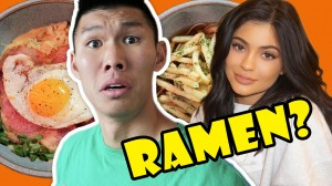 RAMEN TASTE TEST: KYLIE JENNER, BREAKFAST, FRIES