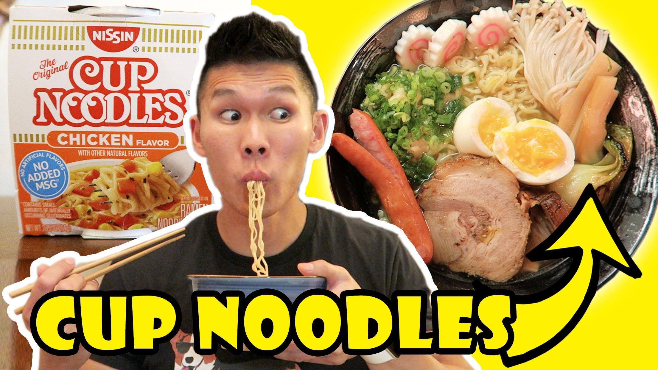 Restaurant Quality Ramen Instant Cup Noodles