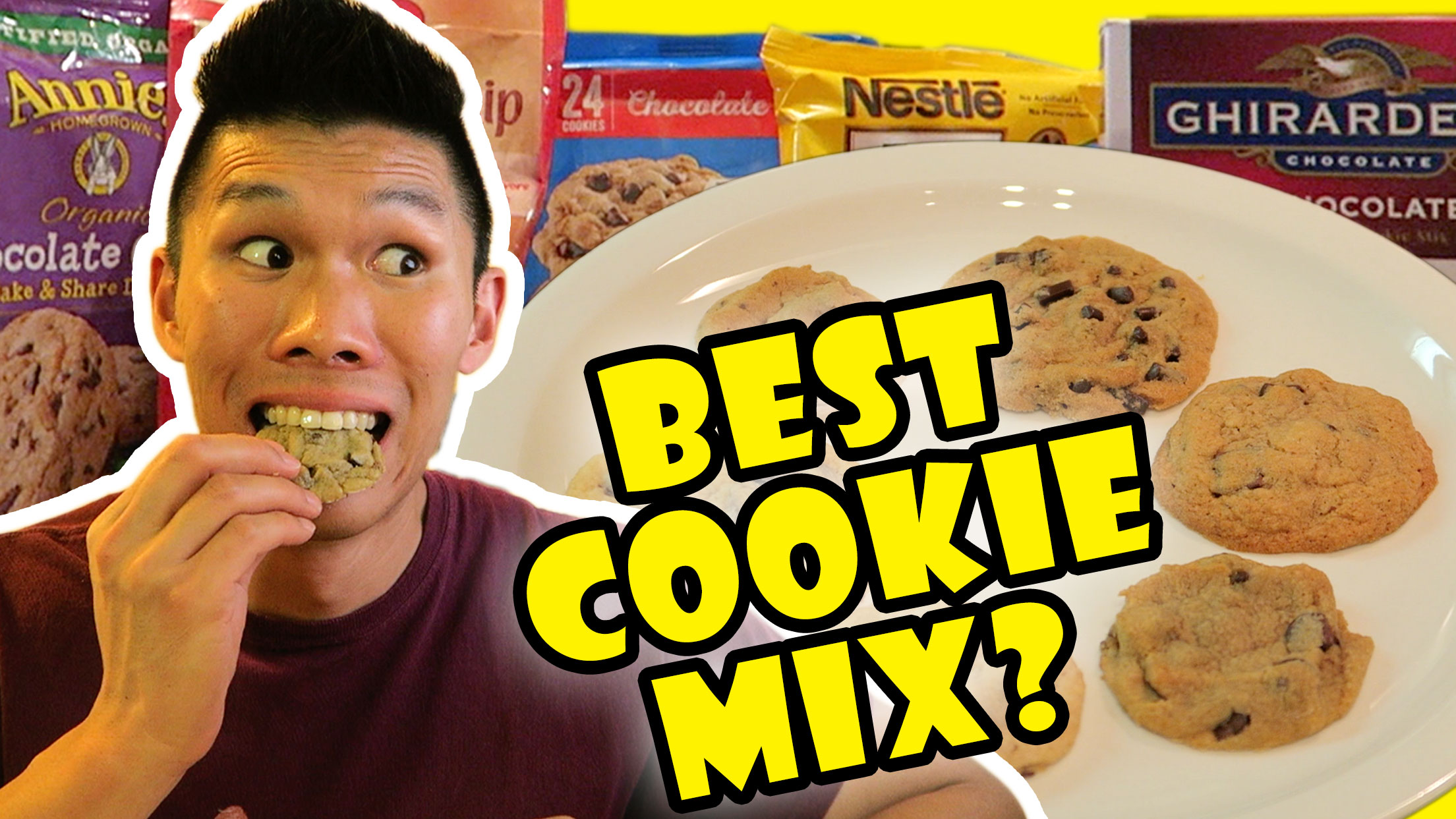 COMPARING BEST CHOCOLATE CHIP COOKIE MIXES