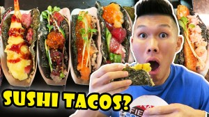 SUSHI TACOS: DIY Tasty & Incredible Street Food