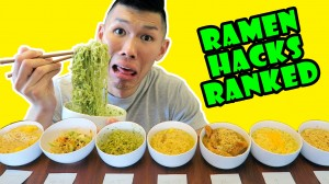 RAMEN HACKS RANKED: TASTE TEST Delicious/GROSS