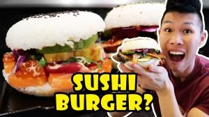 SUSHI BURGER: DIY Tasty or Too Much?
