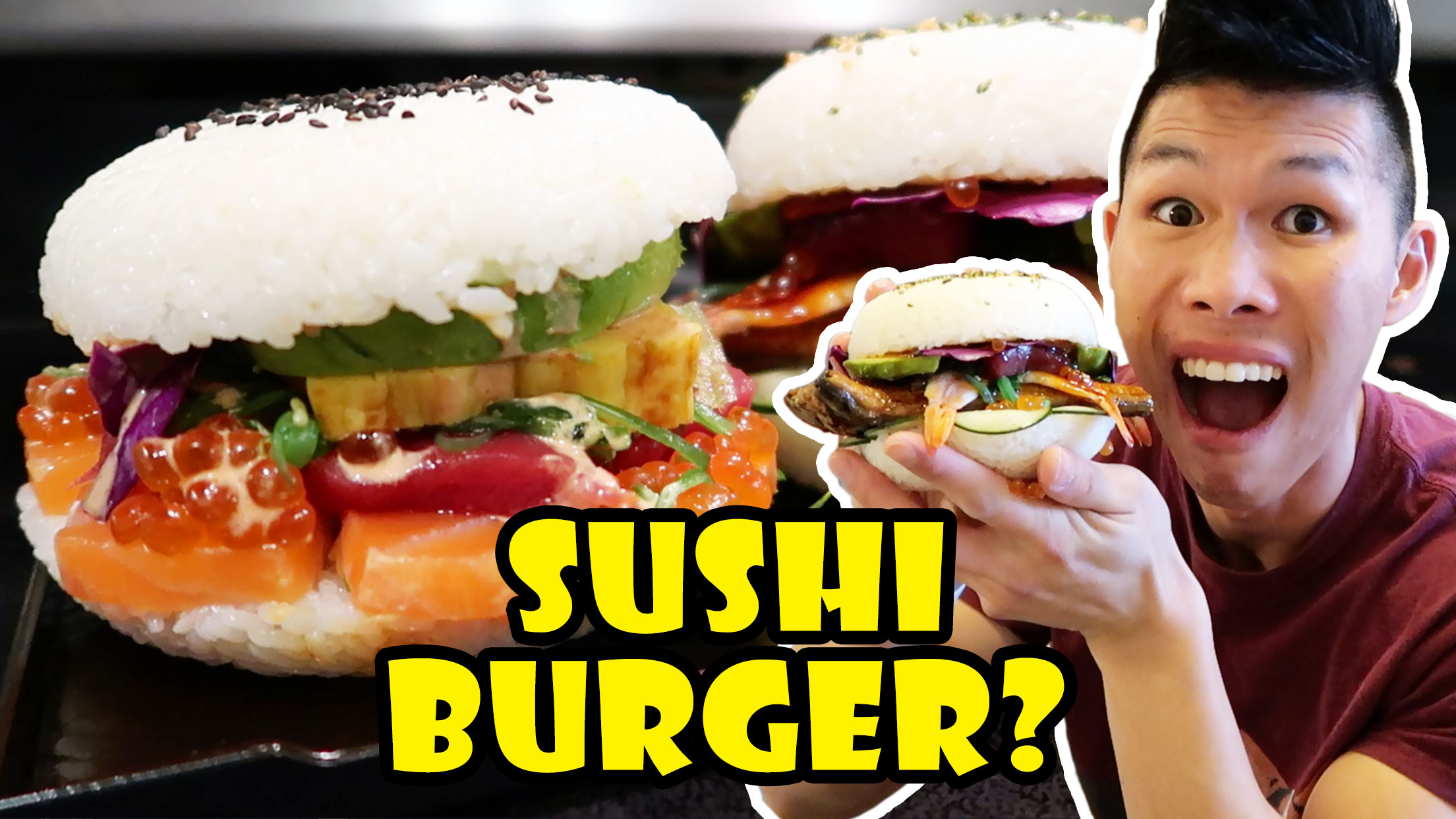 SUSHI BURGER: DIY Tasty or Too Much?