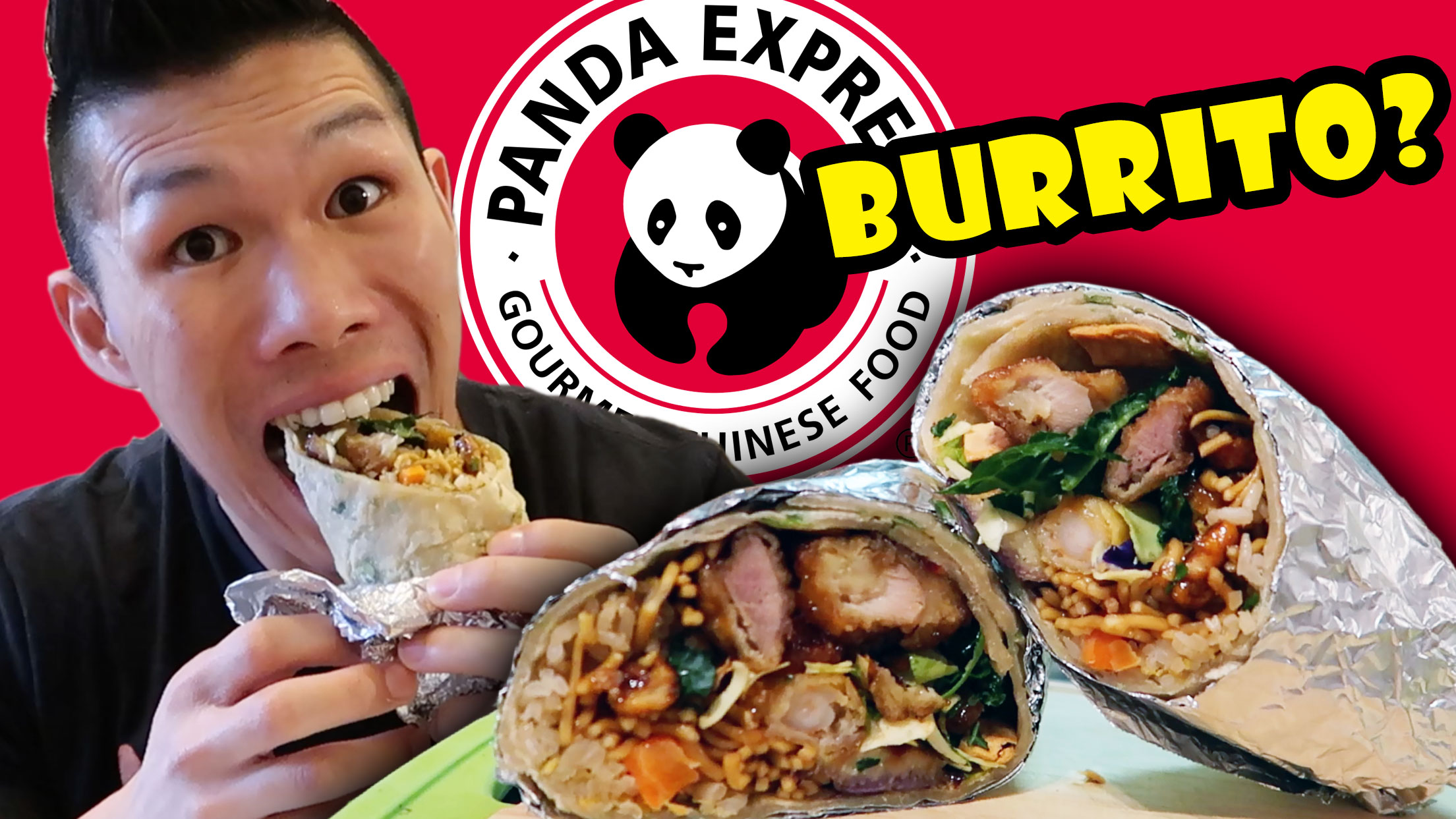 NEW PANDA EXPRESS BURRITO TASTE TEST