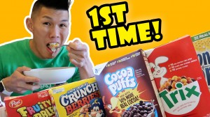TRYING BANNED CEREAL for the 1ST TIME FINALLY